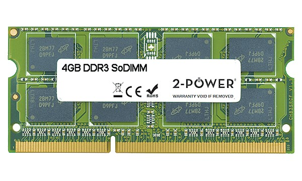 Satellite P750D-BT4N22 4GB DDR3 1333MHz SoDIMM