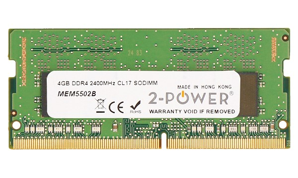 Pavilion 15-cs1010no 4GB DDR4 2400MHz CL17 SODIMM
