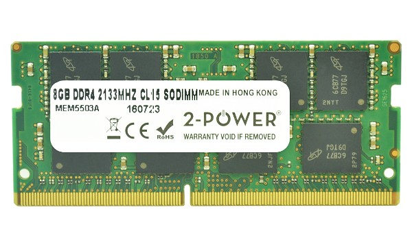 Pavilion 15-bc057nz 8GB DDR4 2133MHz CL15 SoDIMM