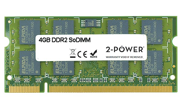 Satellite Pro U500 4GB DDR2 800MHz SoDIMM