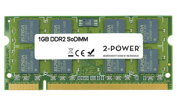 Pavilion dv6-7004es Entertainment 1GB DDR2 800MHz SoDIMM
