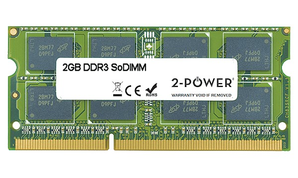 Satellite P755-10J 2GB DDR3 1333MHz SoDIMM